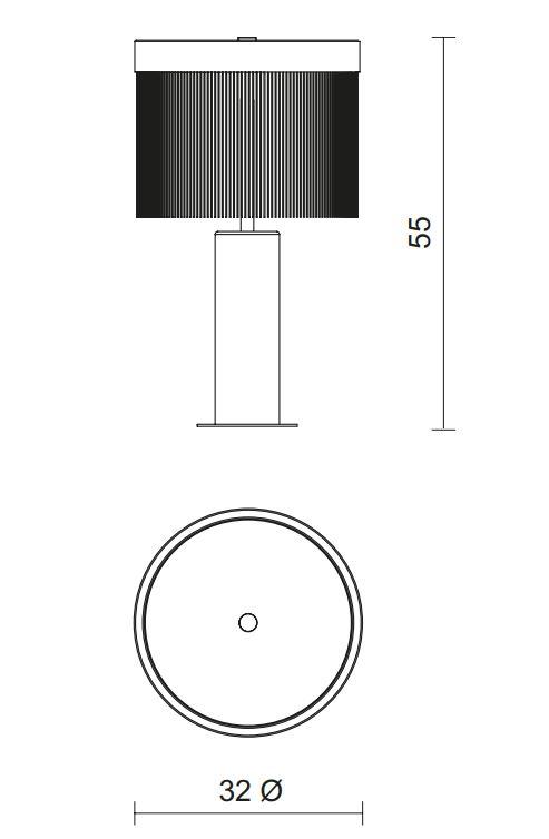 TATO/タト/ORSOLAテーブルライト
