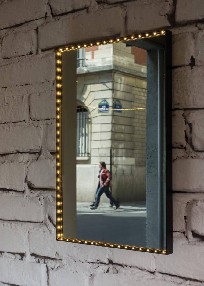 LE DEUN LUMINAIRES/vanity squareウォールミラーライト