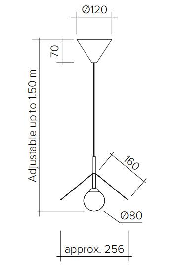 ARETI/Iliosペンダントライト