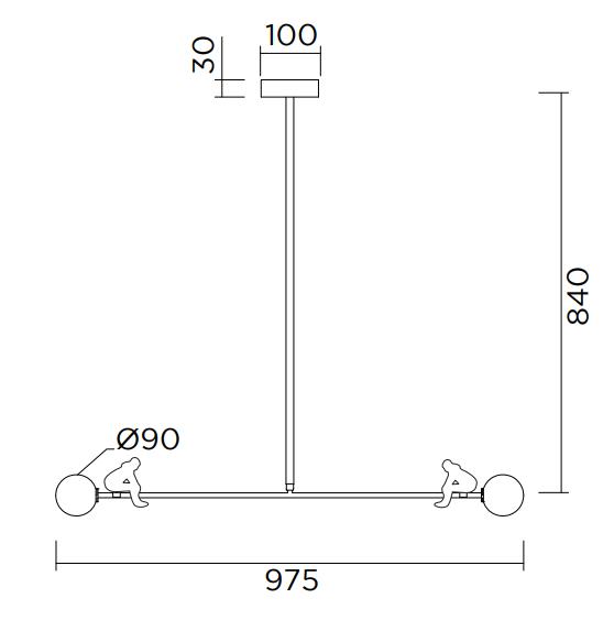 ARETI/See sawシーリングライト