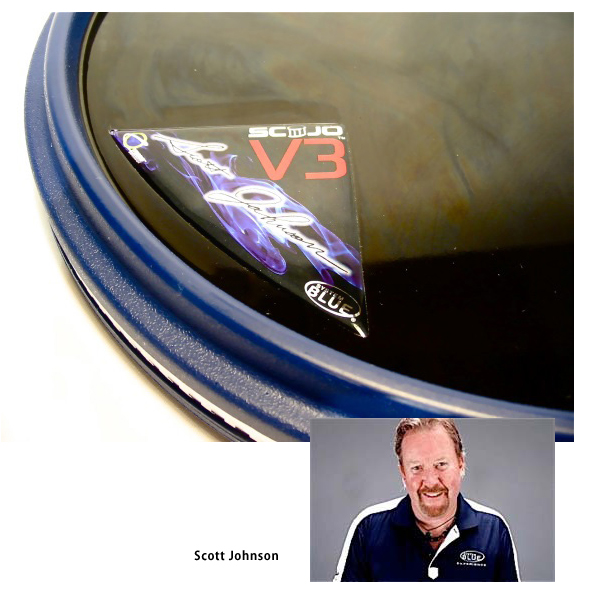 Offworld Percussion V3 SCOJO システムブルー スコジョ パッド [13インチ]