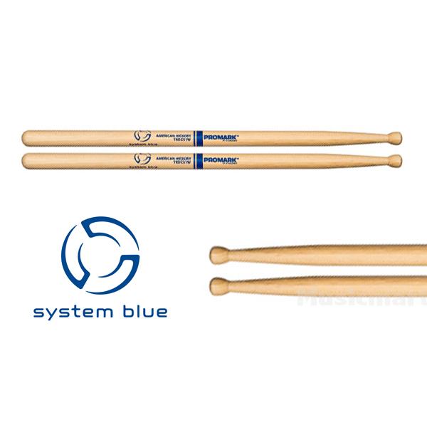 【6セット(12本)パック】PROMARK スネアスティック SystemBlueモデル TXDC51W