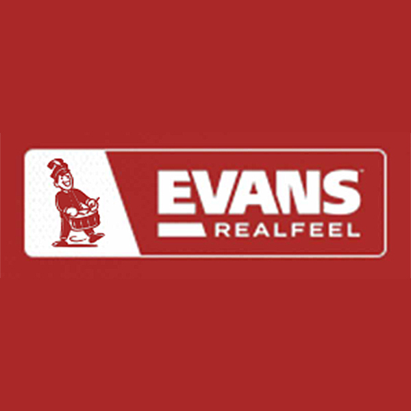 EVANS RealFeel Limited Edition Red Practice Pad 12インチ RF12G-RED