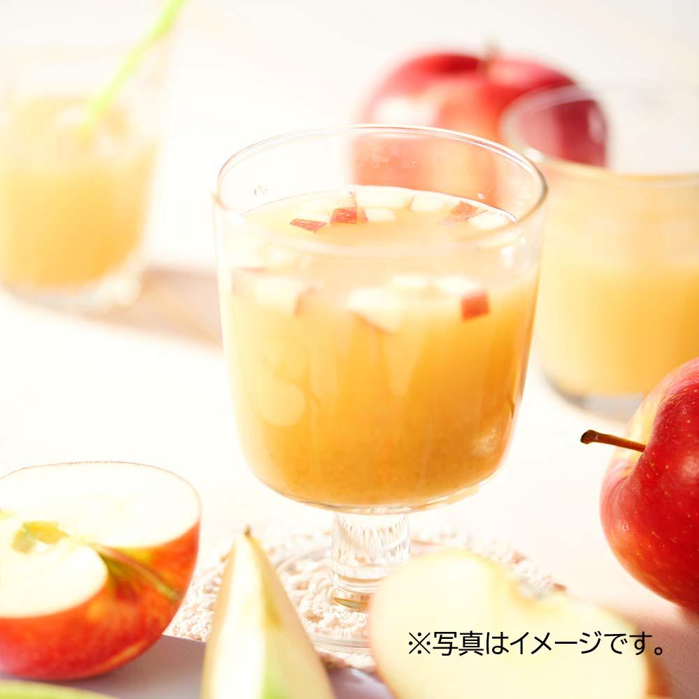 オーガニックストレートジュース クラウディアップル 1Lx12本