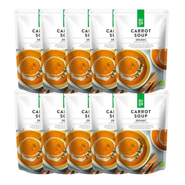AUGAオーガニックキャロットスープ 400gx10袋