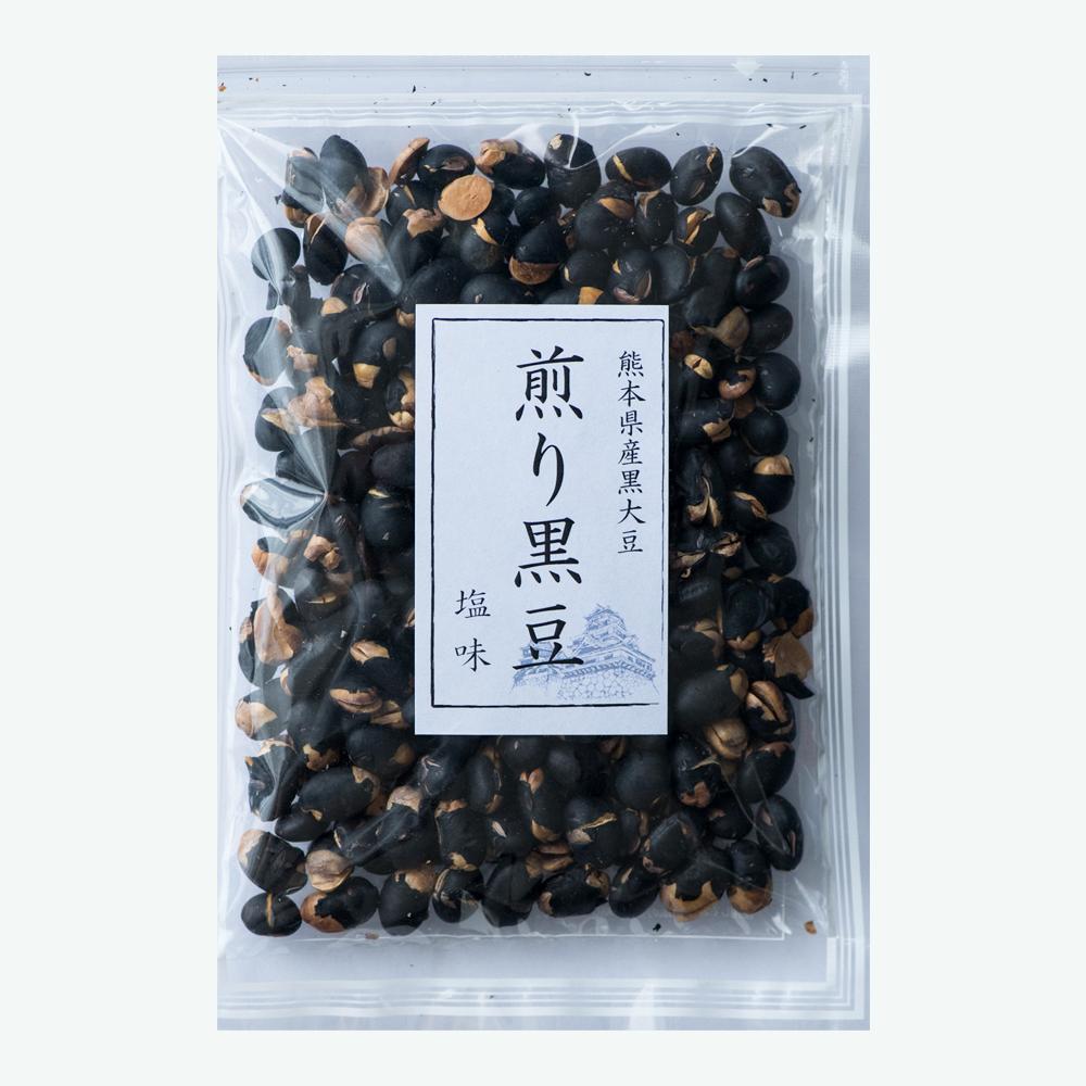 煎り黒大豆醤油