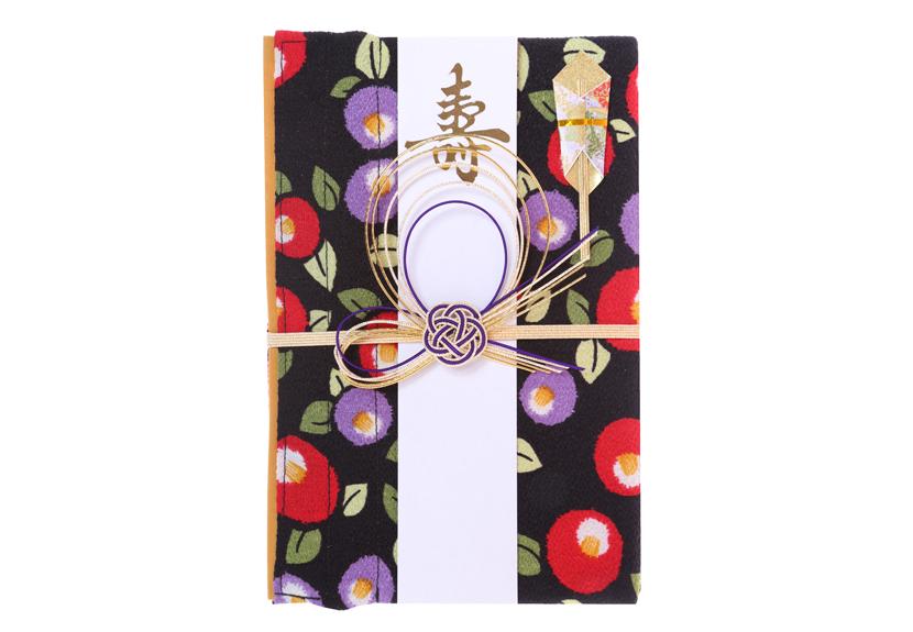 ご祝儀袋 結姫 musubime 青竹(ポリエステル)夜椿夢幻
