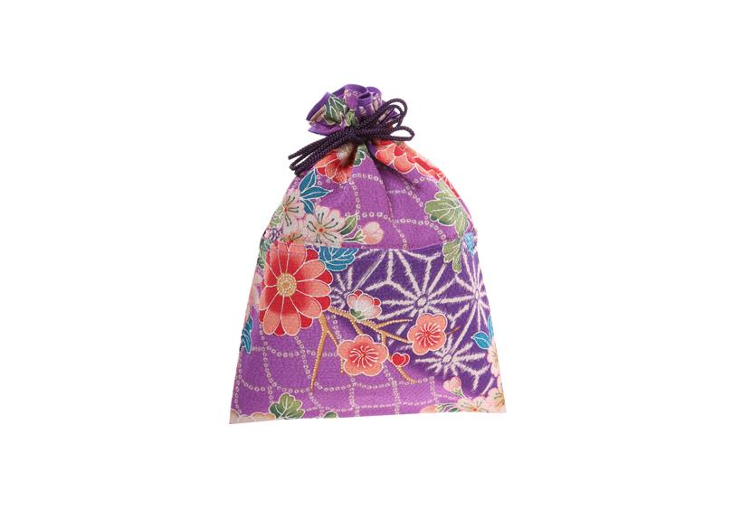 ご祝儀袋 結姫 musubime 青竹(ポリエステル)菊梅紋紫