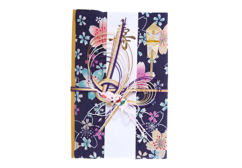 ご祝儀袋 結姫 musubime 青竹(ポリエステル)蒼紫華火