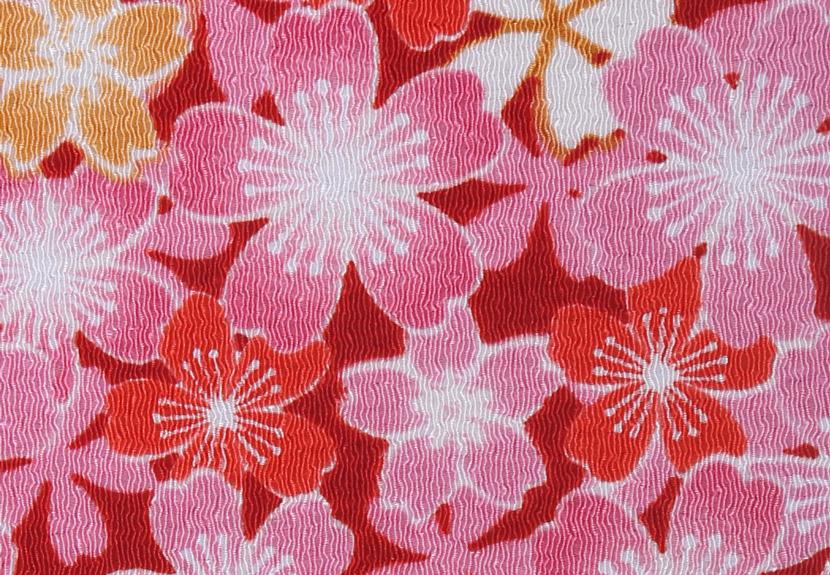 ご祝儀袋 結姫 musubime 青竹(ポリエステル)舞桜(赤)