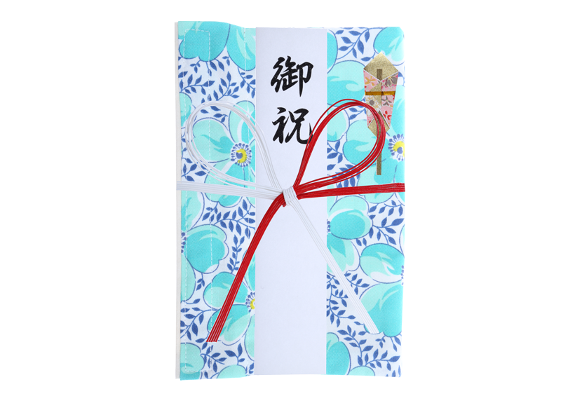 ご祝儀袋 結姫 musubime 白梅(コットン)盛福(白) 蝶