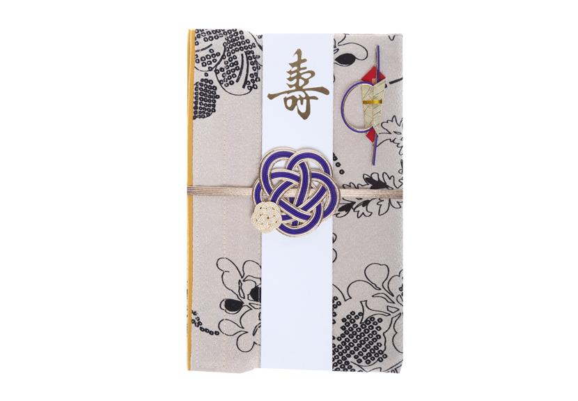 ご祝儀袋 結姫 musubime 青竹(ポリエステル)モダン花