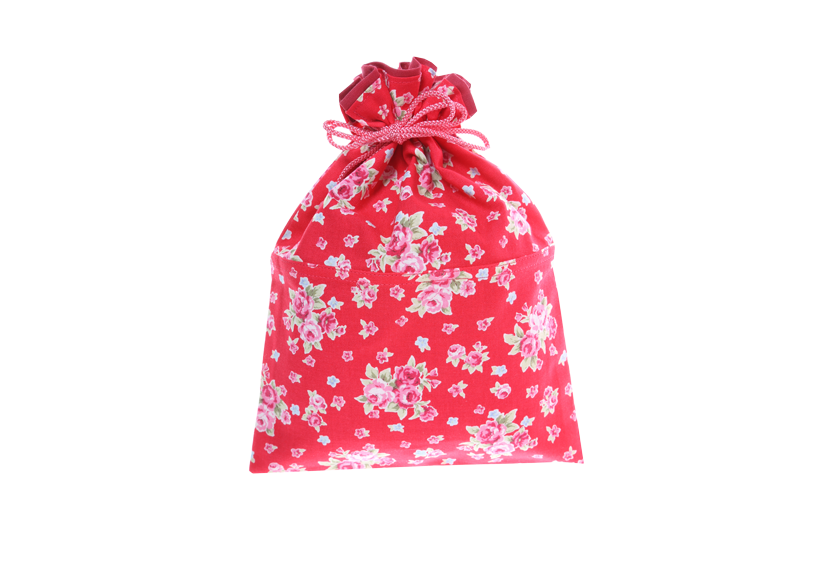 ご祝儀袋 結姫 musubime 白梅(コットン)可憐紅花