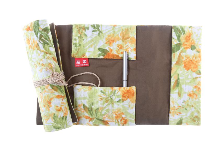 ご祝儀袋 結姫 musubime 高砂(ポリエステル)花壇(緑) 蝶