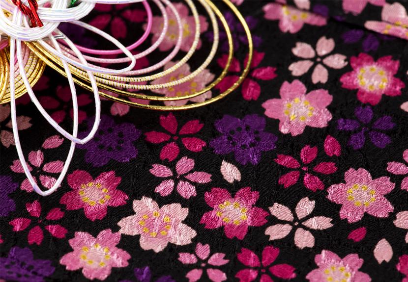 ご祝儀袋 結姫 musubime 青竹(ポリエステル)桜吹雪今
