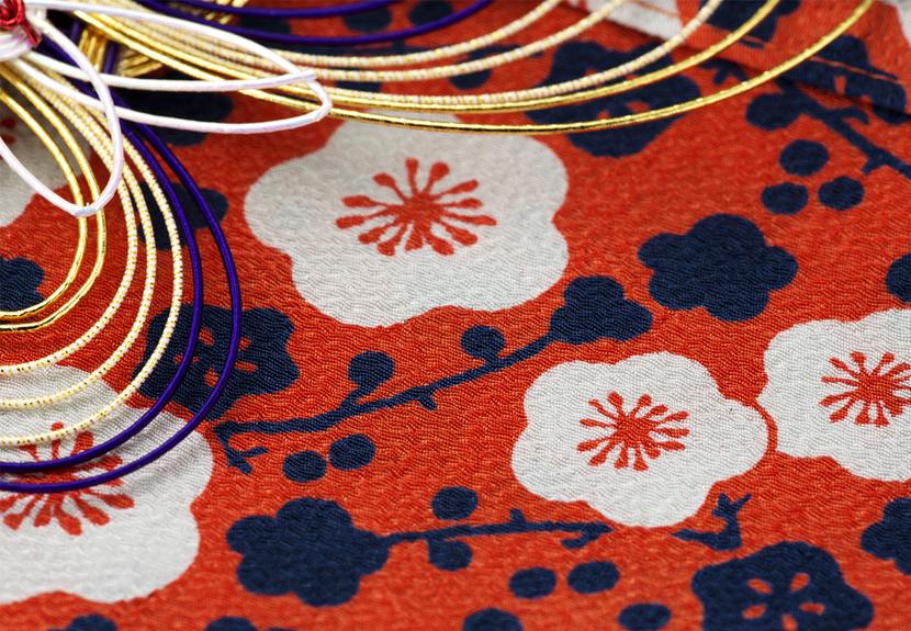ご祝儀袋 結姫 musubime 青竹(ポリエステル)梅男爵橙