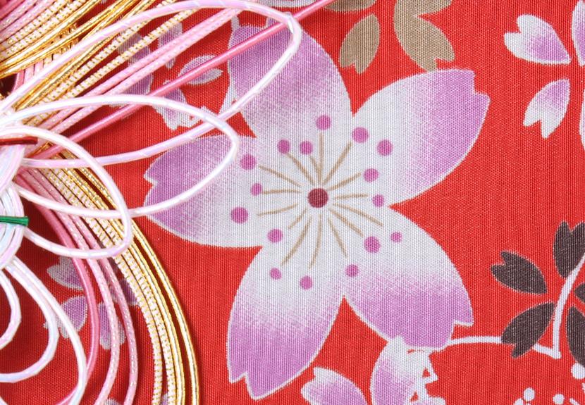ご祝儀袋 結姫 musubime 青竹(ポリエステル)咲紅華火