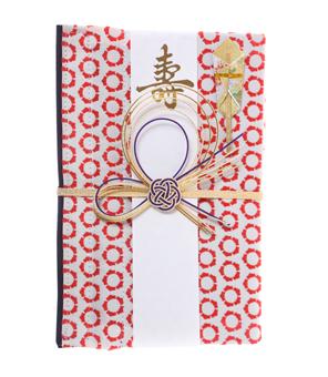 ご祝儀袋 結姫 musubime 青竹(ポリエステル)縁姫結赤
