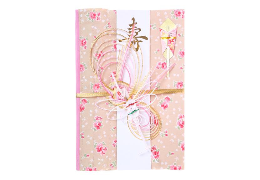 ご祝儀袋 結姫 musubime 白梅(コットン)香福小花