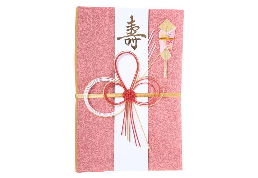 ご祝儀袋 結姫 musubime 赤松(シルク)猩々緋屑