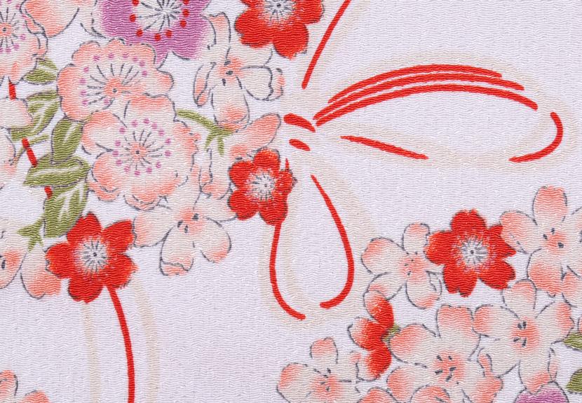 ご祝儀袋 結姫 musubime 青竹(ポリエステル)白桃結桜