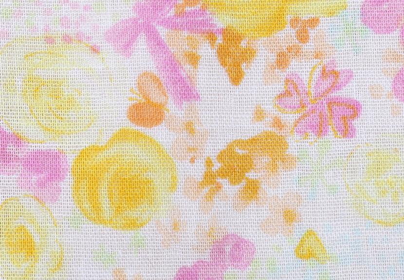 ご祝儀袋 結姫 musubime 白梅(コットン)綿黄薔薇 蝶