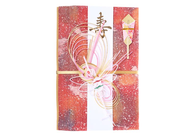 ご祝儀袋 結姫 musubime 赤松(シルク)紅蓮雪炎