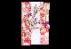 ご祝儀袋 結姫 musubime 白梅(コットン)虹色格子