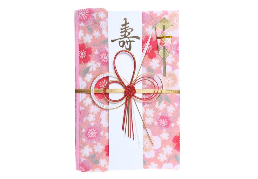 ご祝儀袋 結姫 musubime 青竹(ポリエステル)桃花満開