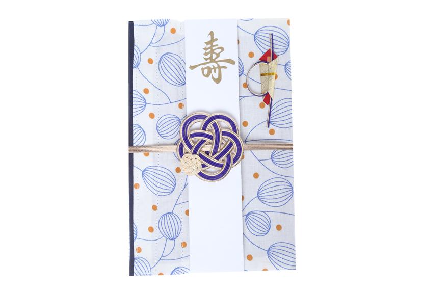 ご祝儀袋 結姫 musubime 白梅(コットン)風船(白)