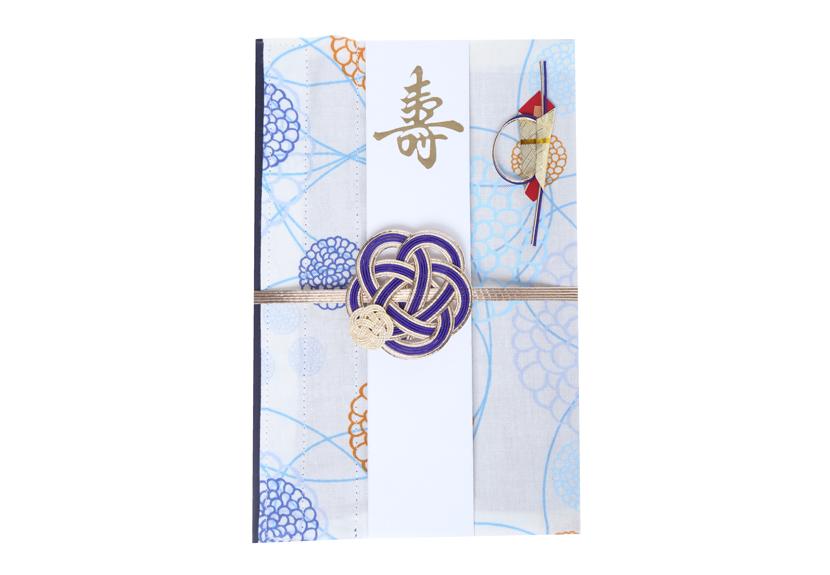ご祝儀袋 結姫 musubime 白梅(コットン)洋花(白)