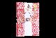 ご祝儀袋 結姫 musubime 青竹(ポリエステル)麻乃葉赤