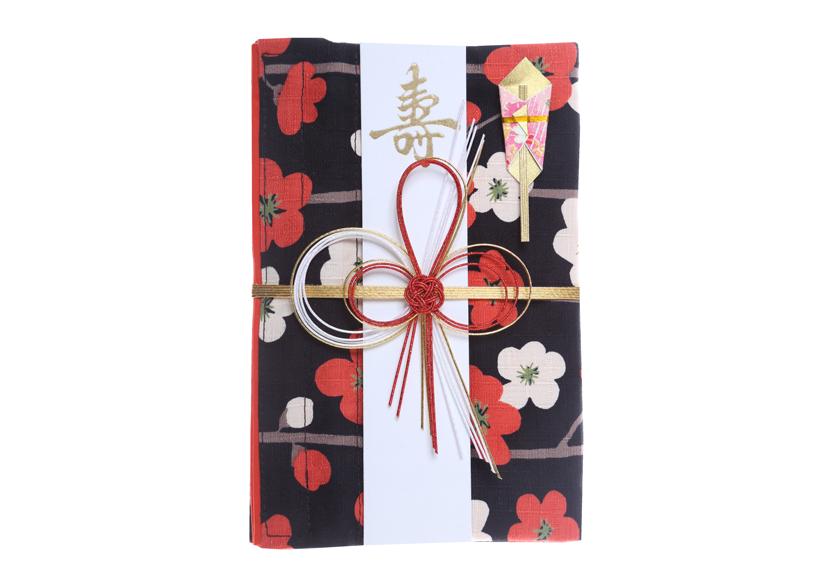 ご祝儀袋 結姫 musubime 白梅(コットン)紅白横梅