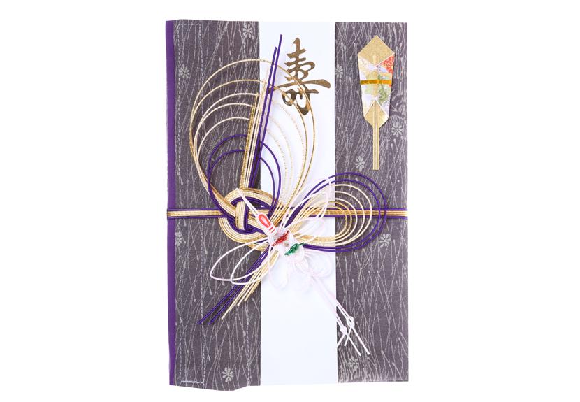 ご祝儀袋 結姫 musubime 赤松(シルク)明灰霧雨