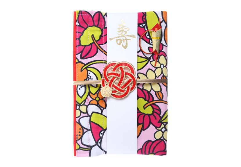 ご祝儀袋 結姫 musubime 白梅(コットン)吉上(赤)