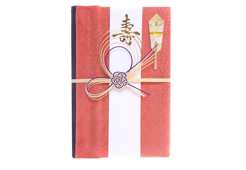 ご祝儀袋 結姫 musubime 赤松(シルク)絹織桃美