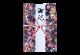 ご祝儀袋 結姫 musubime 白梅(コットン)珠玉(紺) 蝶
