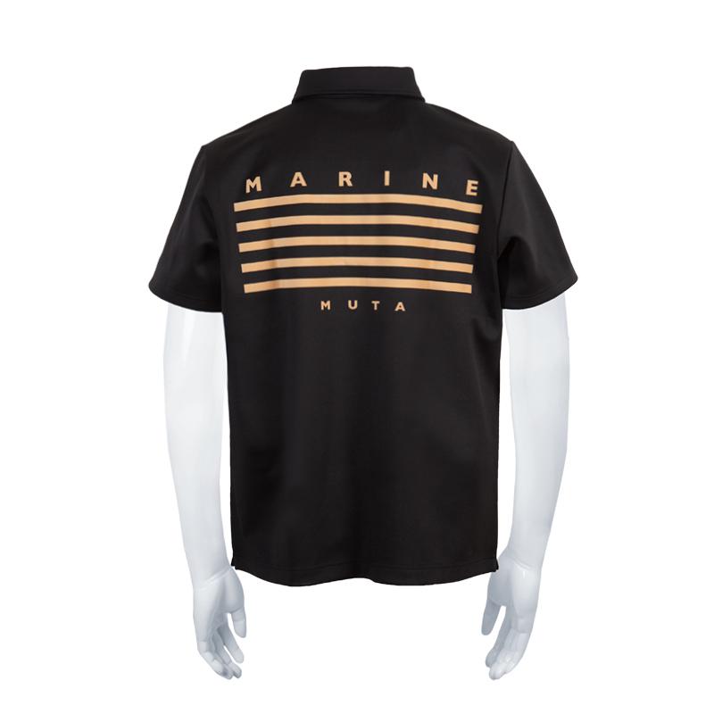 BACK 5LINE ボンディングポロシャツ【全2色】