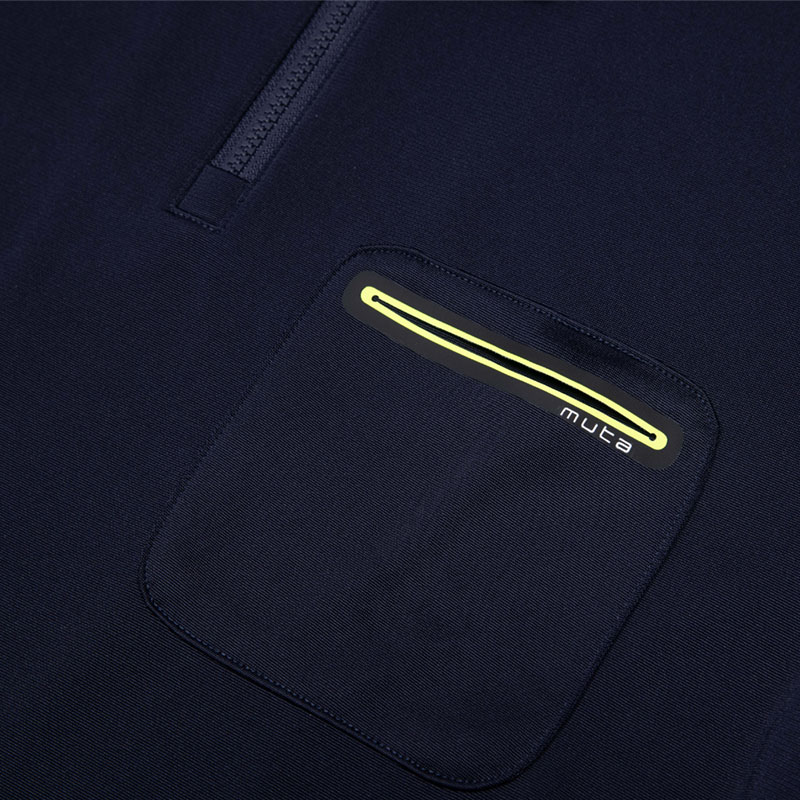 muta MARINE TRIMMING POCKET ポロシャツ【全3色】