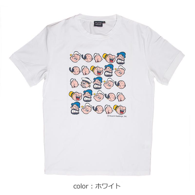 POPEYE meets mutaMARINE FACE Tシャツ【全2色】