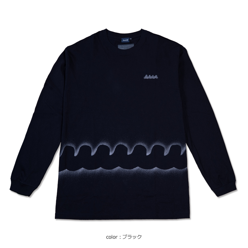 ACANTHUS x muta MARINE STENCIL L/S TEE【全4色】