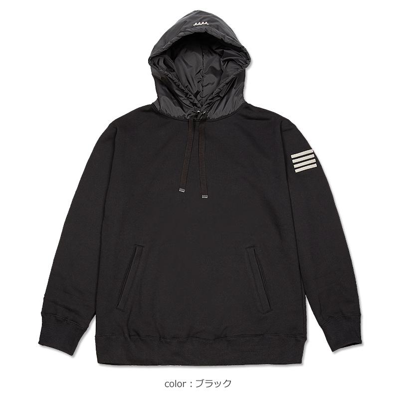 中綿フード切替パーカー【全3色】