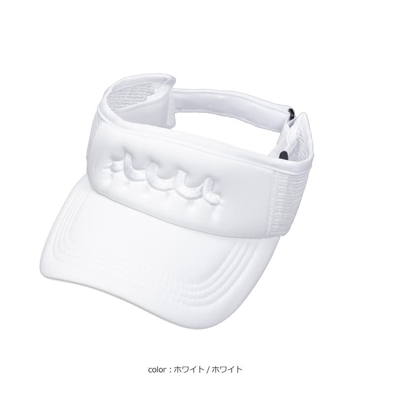 サイドメッシュ WAVEサンバイザー【全6色】
