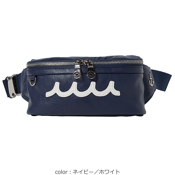 mutaMARINEウエストバッグ・PUレザー【全3色】