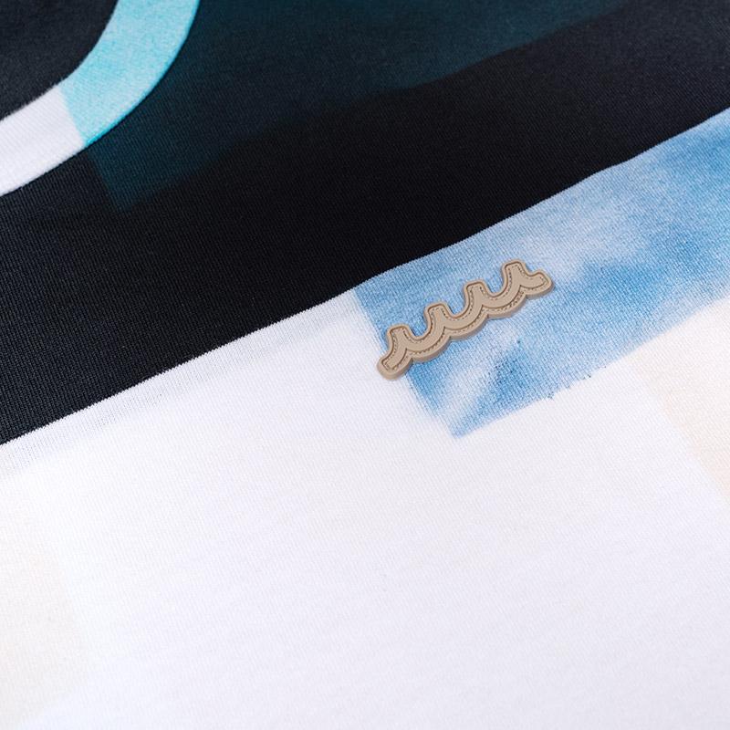 ACANTHUS x muta MARINE BIG BORDER PACHWORK TEE【全3色】