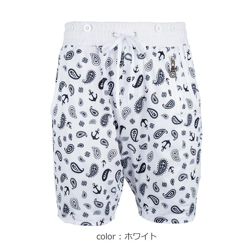 ラッシュハーフパンツ【BANDANNA/2色】