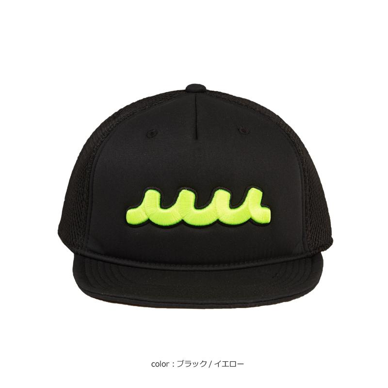 WAVEメッシュキャップ・ショートブリム【全5色】