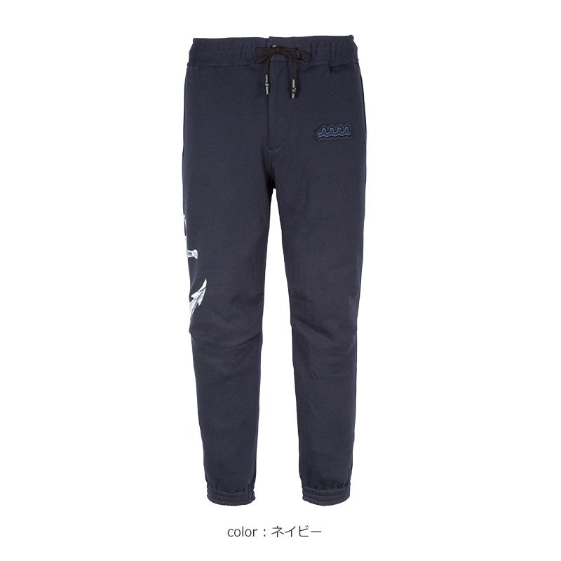 ACANTHUS x muta MARINE PAINT JERSEY PANTS【全2色】