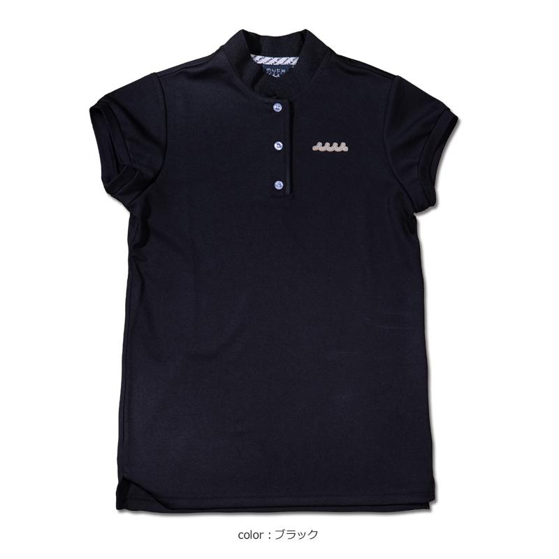スタンドカラー ポロシャツ【全3色】