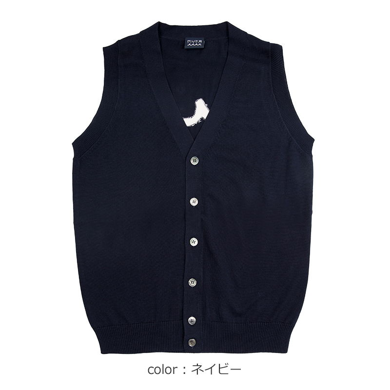 WAVEニットベスト【全2色】